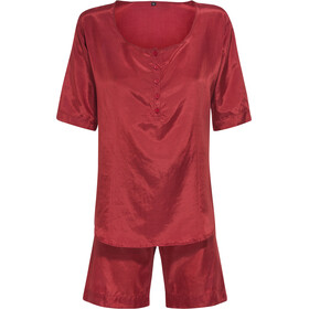 Traveler's Tree Travel Pyjama Dames, rood
